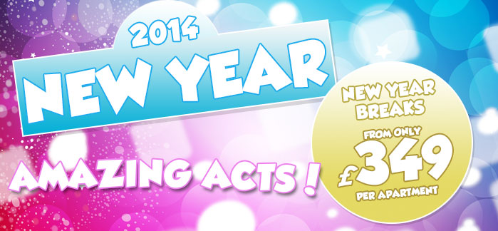 Entertainment for Pontins New Year family breaks 2013
