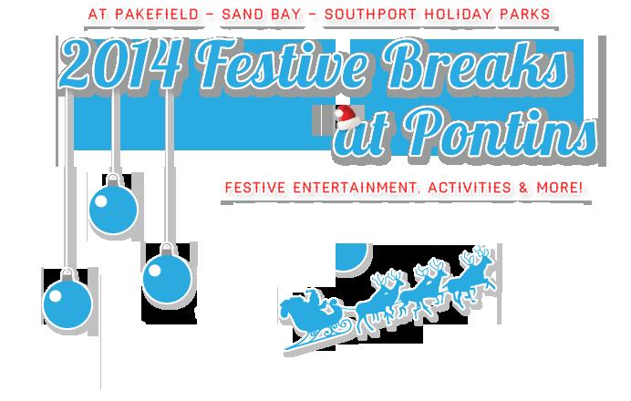 Pontins Festive family breaks 2014