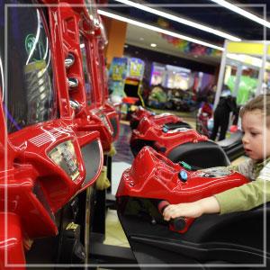 Pontins Amusement Arcade!