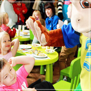 Pontins Character Breakfast!