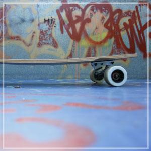 Pontins Outdoor Skate Park!