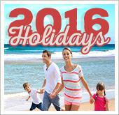 2016 Holidays!