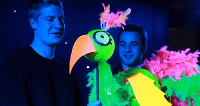 Dayglo Puppets