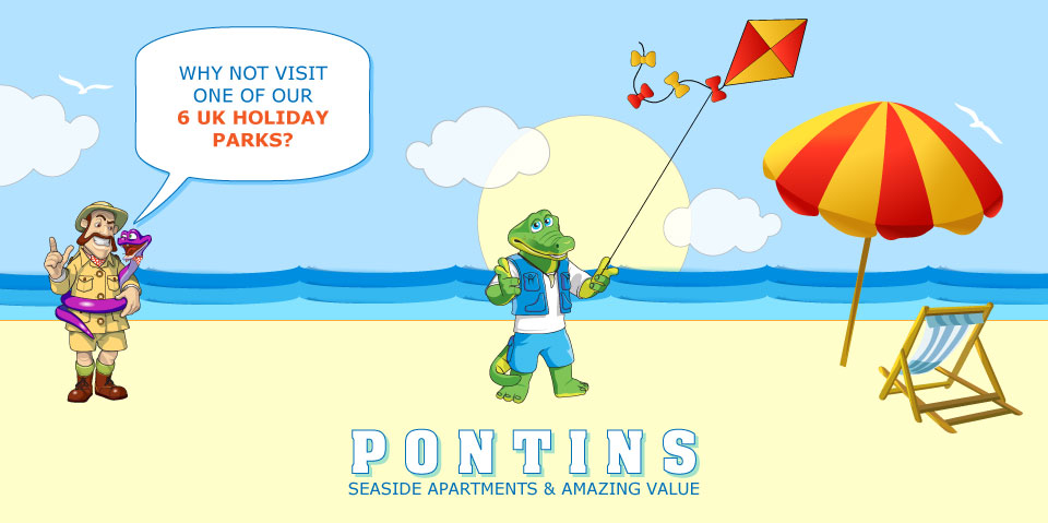 Have a great UK family holiday here at Pontins, check out our 6 UK holiday parks!