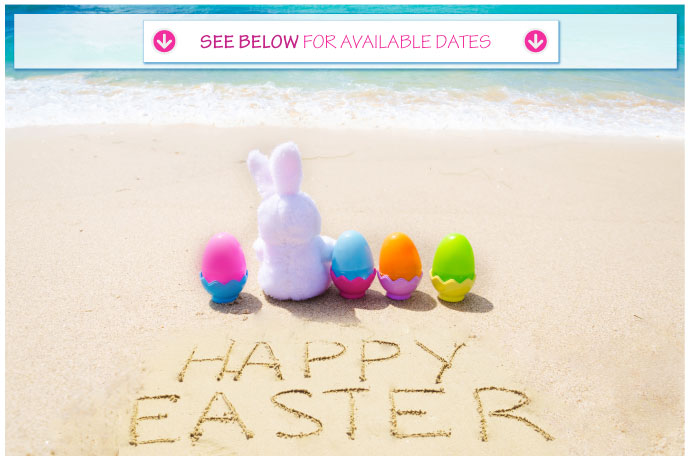 Groupon easter pontins for Call the easter bunny phone number