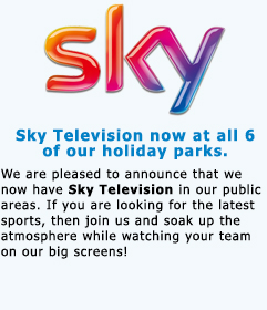 Sky Television at Pontins