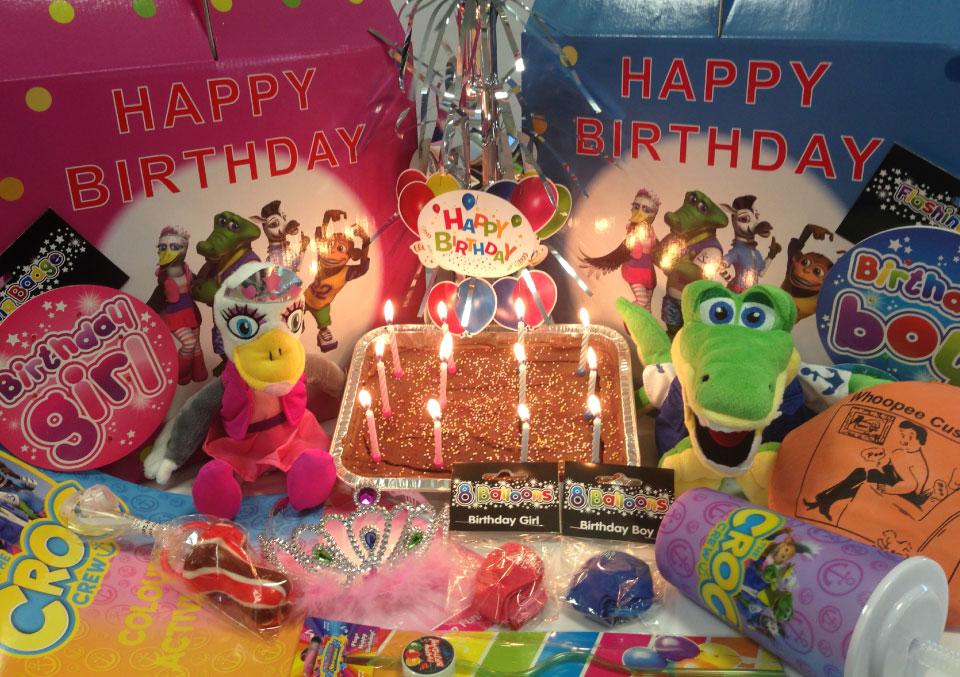 Amazing New Birthday Boxes At Pontins