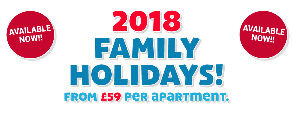 2018 Family Holiday Breaks