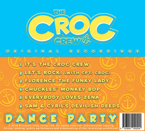 Croc Crew Dance Party CD