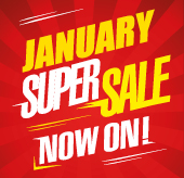 January Super Sale Now On!